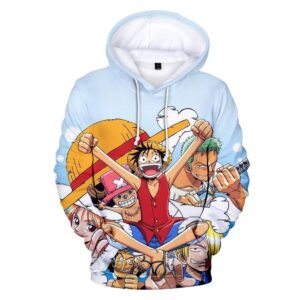 Pull One Piece Équipage Luffy