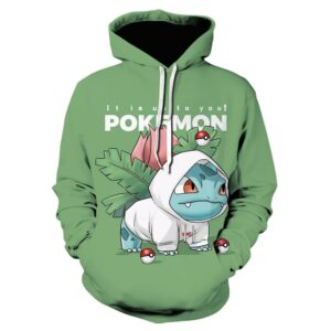 Pull Pokémon Bulbizarre Streetwear