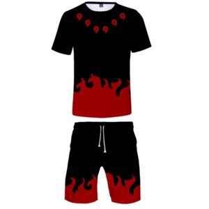 Pyjama Naruto Magatama Rouge
