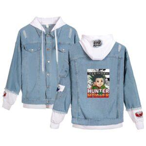 Veste Hunter X Hunter Gon Freecss Bleu et Blanc