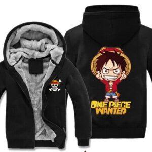 Veste One Piece Luffy Chibi