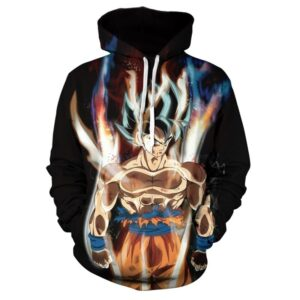 Pull DBS Goku Réflexe Transcendantal