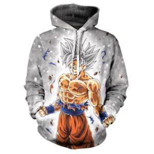 Pull DBS Goku Maitrise des Mouvements Instinctifs