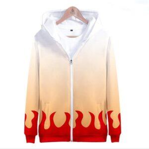 Veste Demon Slayer Pilier de la Flamme