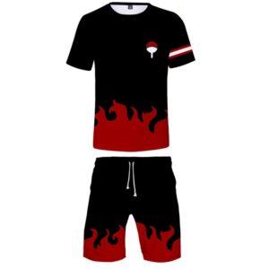 Pyjama Naruto Logo Uchiwa