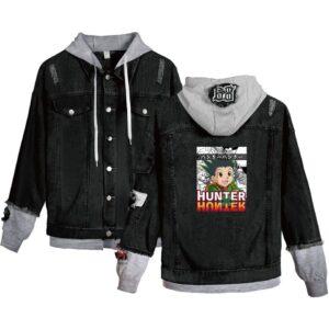 Veste Hunter X Hunter Gon Freecss Noir et Gris