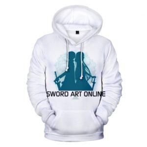 Pull Sword Art Online Blanc