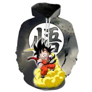 Pull Dragon Ball Goku Kanji