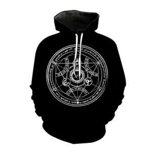 Pull Full Metal Alchemist Cercle de Transmutation