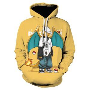 Pull Pokémon Dracaufeu Streetwear