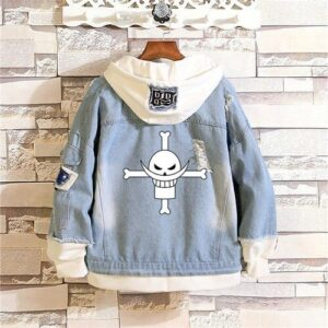 Veste One Piece Barbe Blanche Jolly Roger