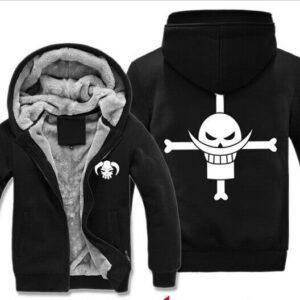 Veste One Piece Barbe Blanche Logo Pirate