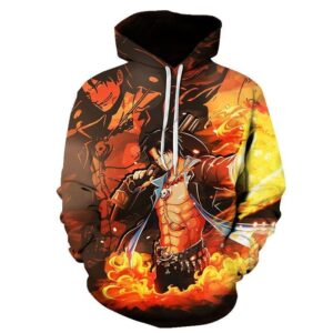 Pull One Piece Ace Arme