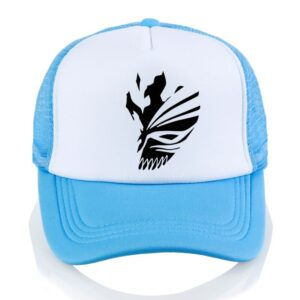 Casquette Bleach Bleu et Blanc
