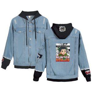 Veste Hunter X Hunter Gon Freecss Bleu et Noir