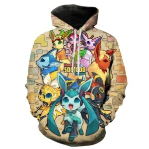 Pull Pokémon All Evoli Evolutions