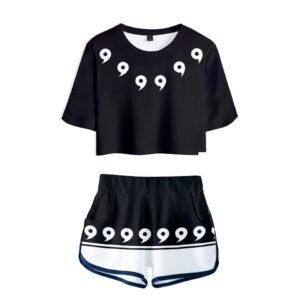Pyjama Naruto Magatama Noir et Blanc