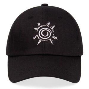 Casquette Naruto Sceau des Quatre Symboles Noir
