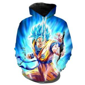 Pull DBS Goku Super Saiyan Blue