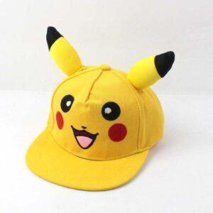 Casquette Pokémon Pikachu Oreilles