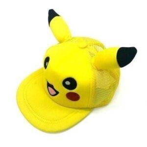 Casquette Pokémon Pikachu Oreilles Respirant