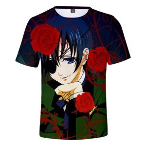 T-Shirt Black Butler Ciel Phantomhive