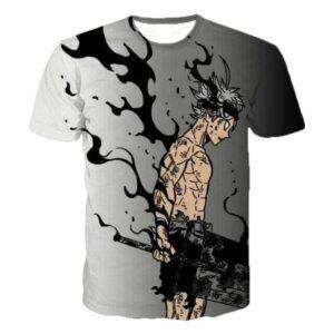 T-Shirt Black Clover Asta