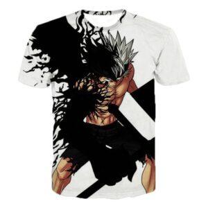 T-Shirt Black Clover Asta Devil