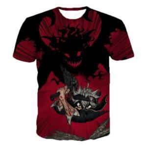 T-Shirt Black Clover Burakku Kurōbā