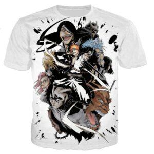 T-Shirt Bleach Shinigami