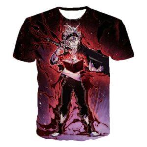 T-Shirt Black Clover Asta Chevalier-Mage