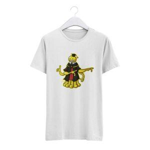 T-Shirt Assassination Classroom Face de Poulpe